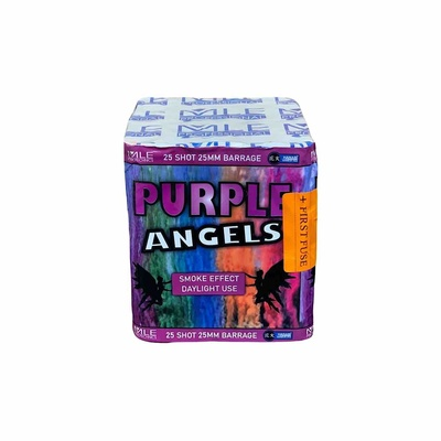 Purple Angels Purple Smoke Daylight Use MLE Pyrotechnics