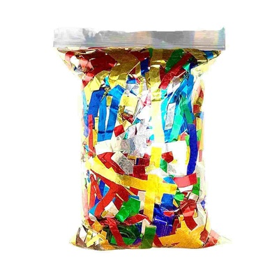 Multi coloured Confetti for Confetti Air Guns