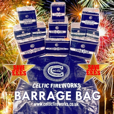 Celtic barrage bag